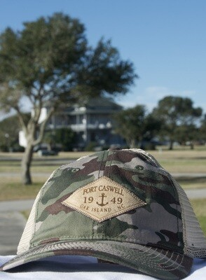 Fort Caswell Camo Hat