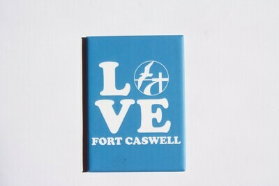Love Fort Caswell Magnets