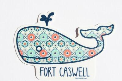 Reg Whale Sticker