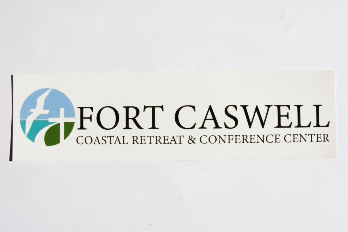 Fort Caswell Sticker (long)