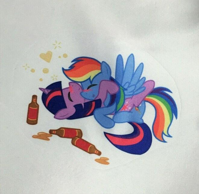 Rare sexy Pinky pie Rainbow Dash or Apple Jack My little ponies Naughty Bronies Satin string bikini panties