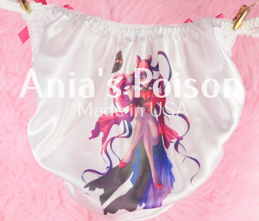 Rare Evil Sailor MOON Evil version with cat Satin string bikini panties