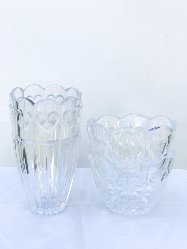 Heart Glass Bowls