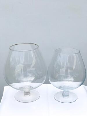 Brandy Snifter Glass Vase