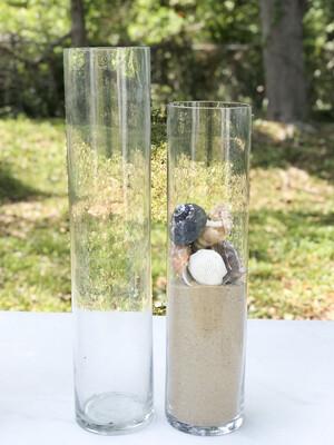 Glass Cylinder Vase 18