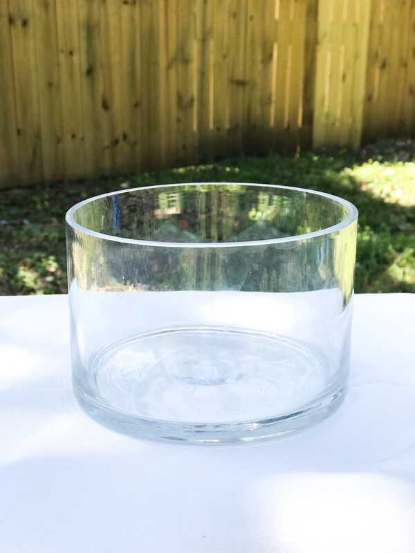 Glass Cylinder Bowl