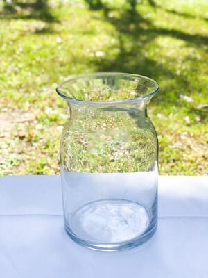 Flared Rim Glass Vase 8