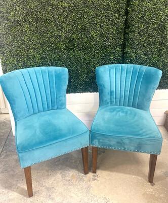 Olaf- Light Blue Chair