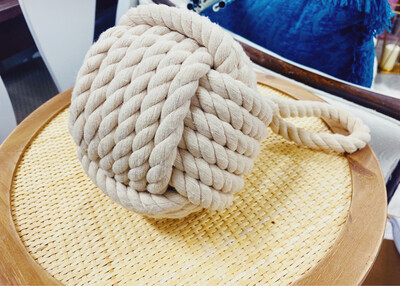 Rope Ball Tabletop Decor