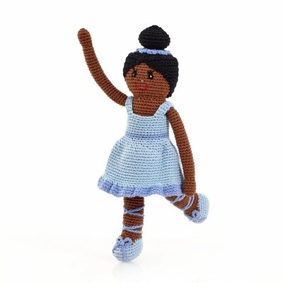 Blue Storytime Ballerina