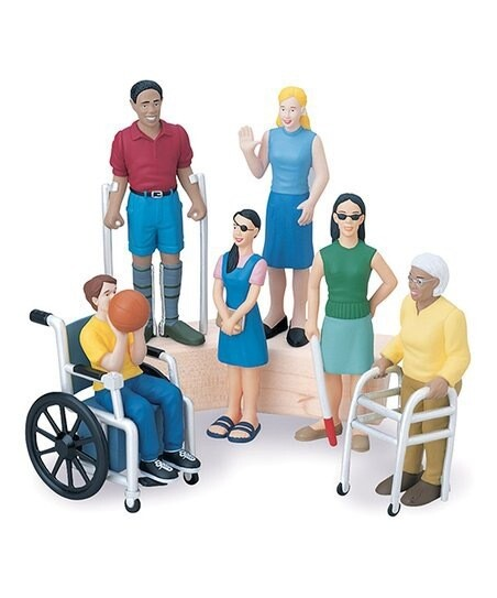 Friends with Diverse Abilities Figurine Set