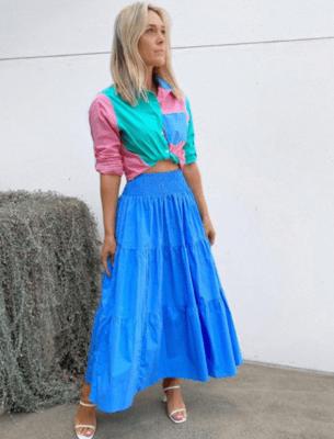 Wednesday Skirt - Blue