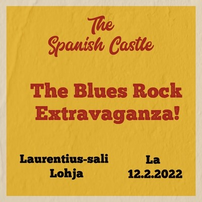 The Blues Rock Extravaganza! - 19.3. Lohja