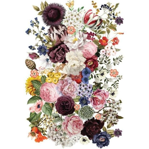 Prima Decor Transfer: Wondrous Floral