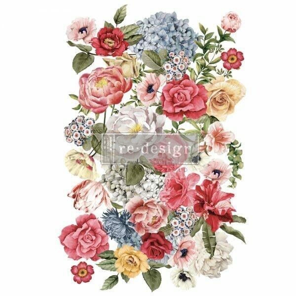 Prima Decor Transfer: Wondrous Floral II