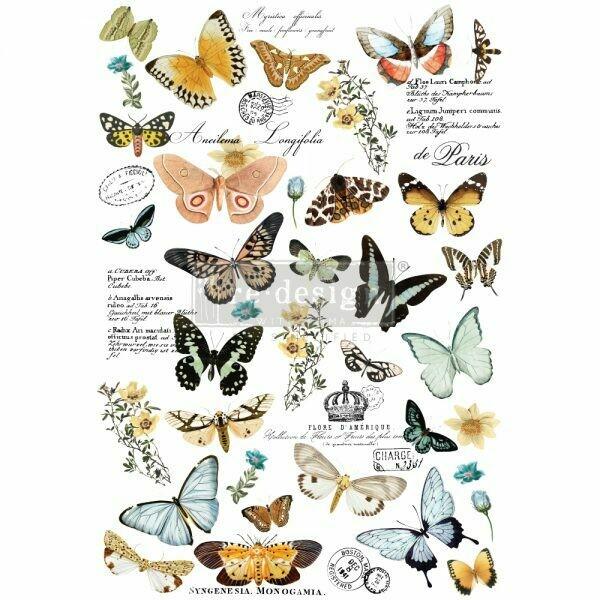 Prima Decor Transfer: Butterfly Dance