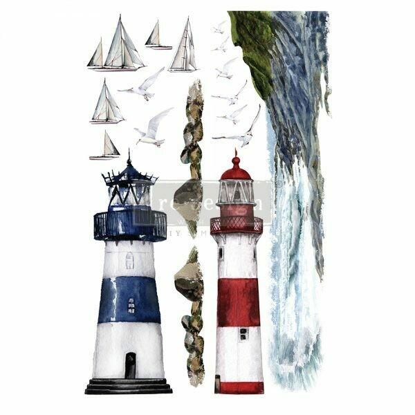 Prima Decor Transfer: Lighthouse