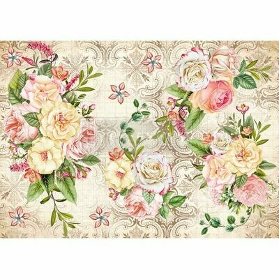 Rice Paper: Amiable Roses