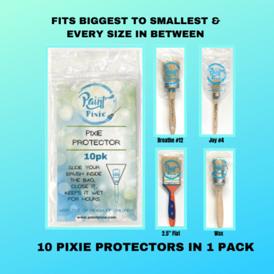 Paint Pixie - Paintbrush Protector - Pack of 10