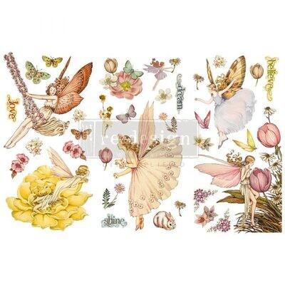 Small Decor Transfer: Fairy Flowers
