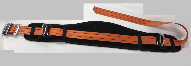Support belt / Post belt D-loops on both sides, wide backrest.