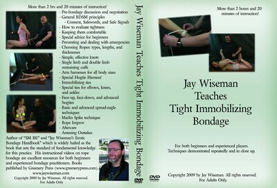 DVD: Tight Immobilizing Bondage