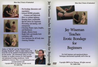 DVD: Jay Wiseman Teaches Erotic Bondage for Beginners