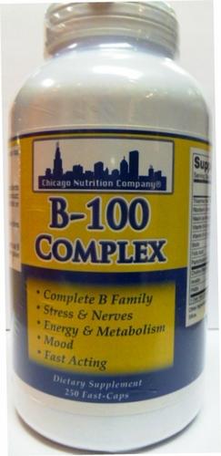 B-100 Complex 250 Caps