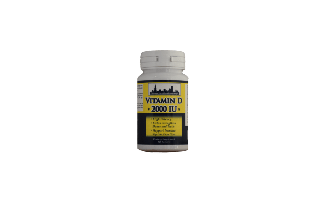 Vitamin D3  5000 IU 240ct