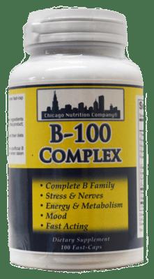 B-100 Complex 100 Caps