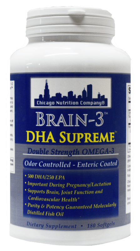 Brain - 3 DHA Supreme
