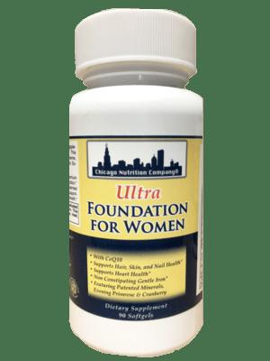 Ultra Foundation for Women - 90 Softgels