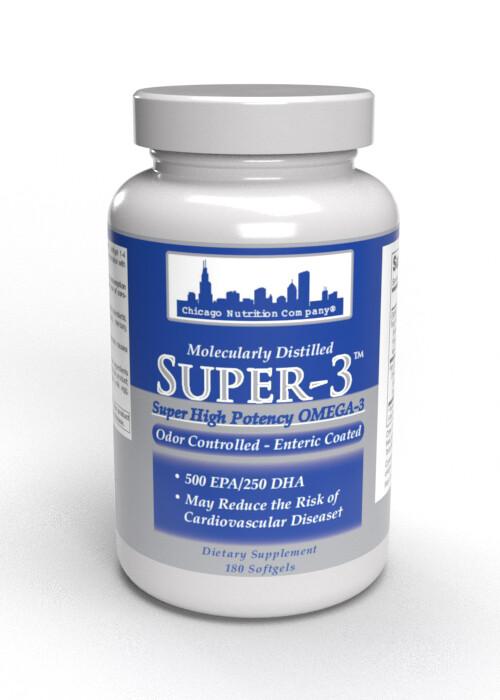 Super-3 Fish Oil - 180ct