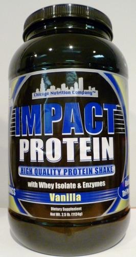 Impact Protein - Vanilla - 5 lbs.
