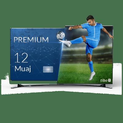 RIABONIM TIBO PREMIUM 12 MUAJ NË BOX QUADCORE OSE SMART TV