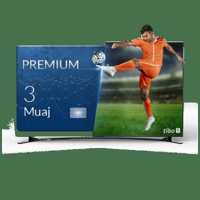 ABONIM/RIABONIM TIBO PREMIUM 3 MUAJ NË BOX QUADCORE OSE SMART TV