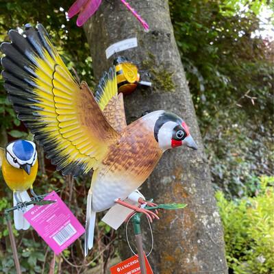 Bird On Stand Sculpture