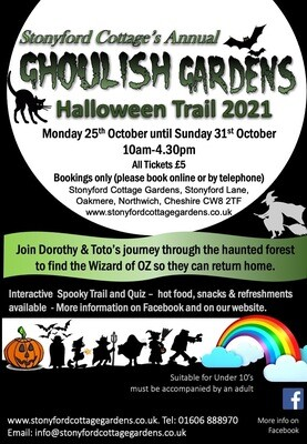 Halloween Trail Ticket - Monday 25th October