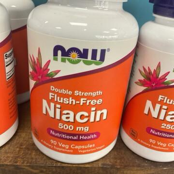 Flush-Free Niacin 500mg (90vcap)
