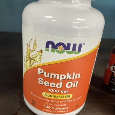 Pumpkin Seed Oil (100 softgels)