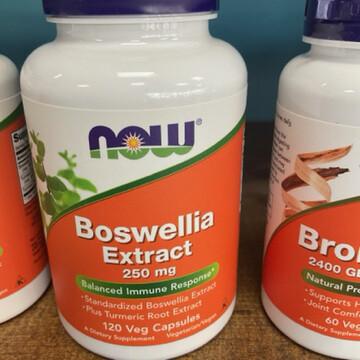 Boswellia Extract 250mg 120ct