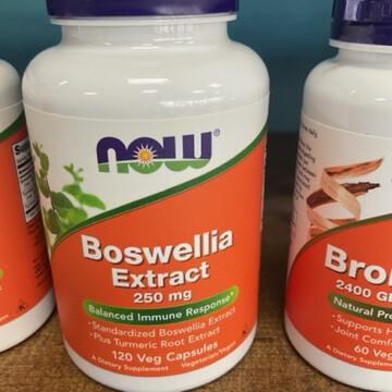 Boswellia Extract 250mg 120ct