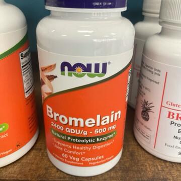 Bromelain 600 gdu 500 mg 60 Tabs