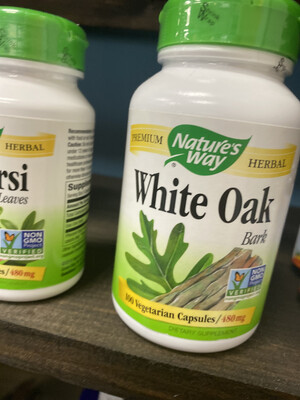 White Oak Bark 480 mg (100 Vcaps)