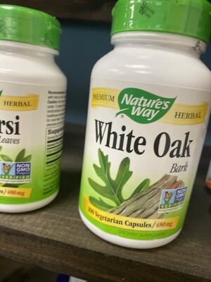 White Oak Bark 480 mg (100 Vcaps)