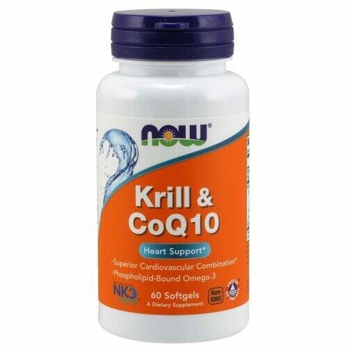 Krill & CoQ10 60ct