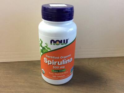 Spirulina 500mg 100 Tablets