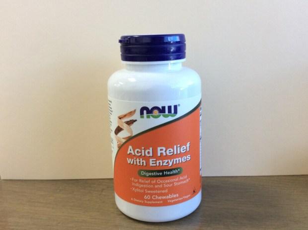 Acid Relief Chew Enzymes 60 loz