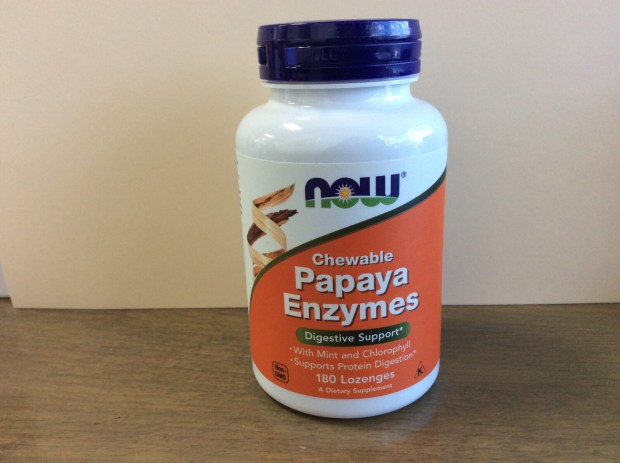 Papaya Enzyme Chewable,  mint (180 Loz)