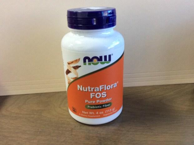 NutraFlora FOS Powder 4oz